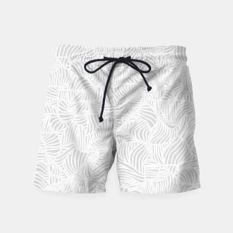 Thumbnail image of white Swim Shorts, Live Heroes