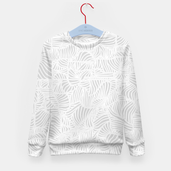 Thumbnail image of white Kid's Sweater, Live Heroes