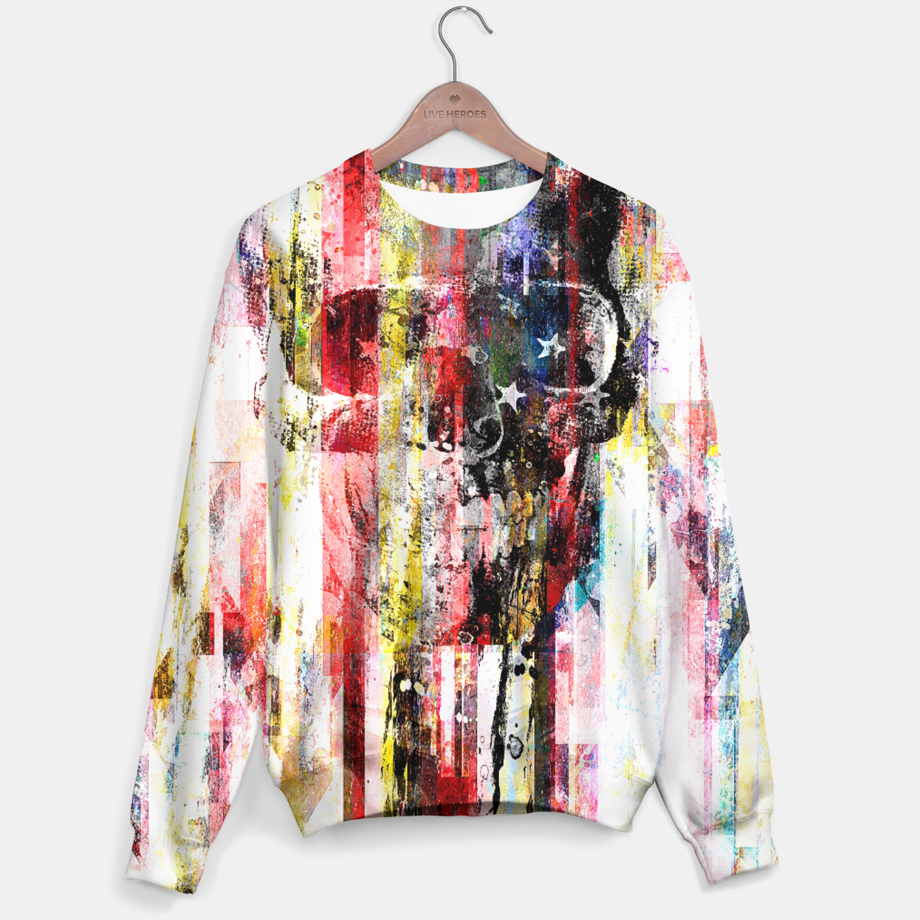 Image of Lenny Kaos Sweater - Live Heroes
