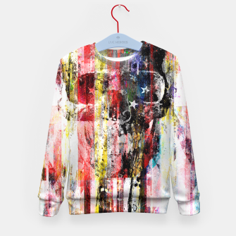 Thumbnail image of Lenny Kaos Kid's Sweater, Live Heroes