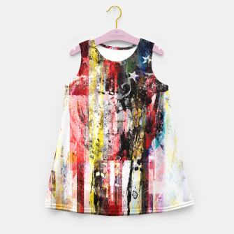 Thumbnail image of Lenny Kaos Girl's Summer Dress, Live Heroes