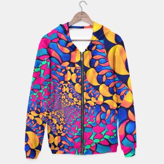Thumbnail image of Psychedelic Trippy Abstract Pattern  Hoodie, Live Heroes