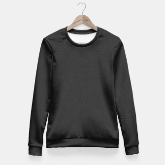 Thumbnail image of black Fitted Waist Sweater, Live Heroes