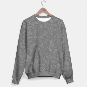 Thumbnail image of gray Sweater, Live Heroes
