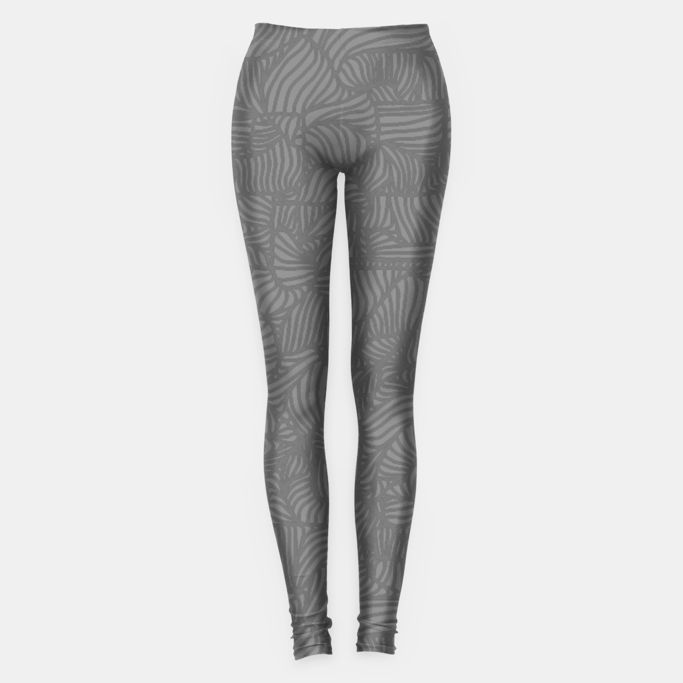 Image of gray Leggings - Live Heroes