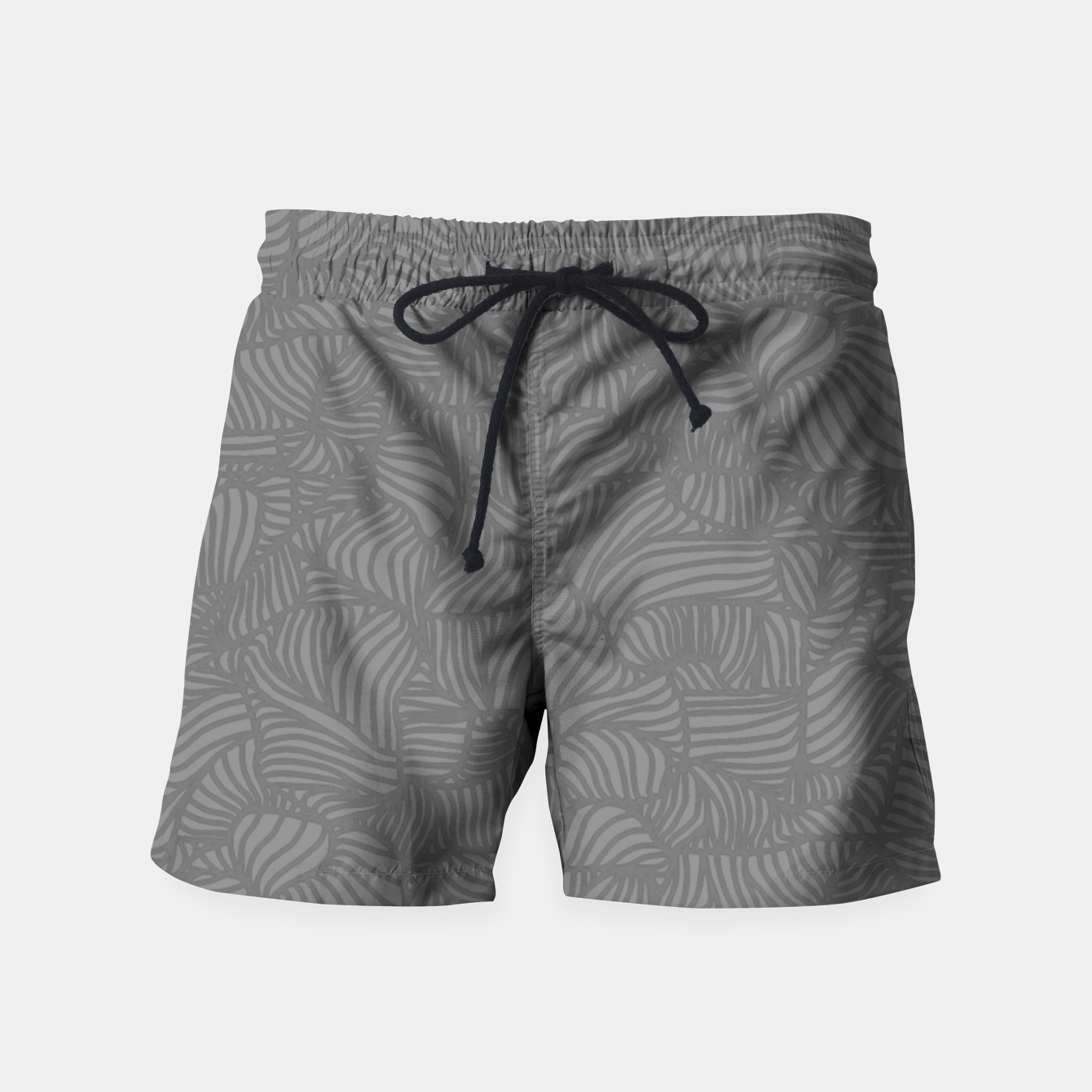 Image of gray Swim Shorts - Live Heroes