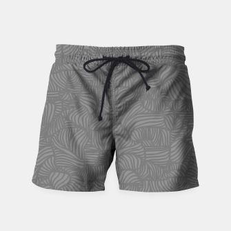 Thumbnail image of gray Swim Shorts, Live Heroes