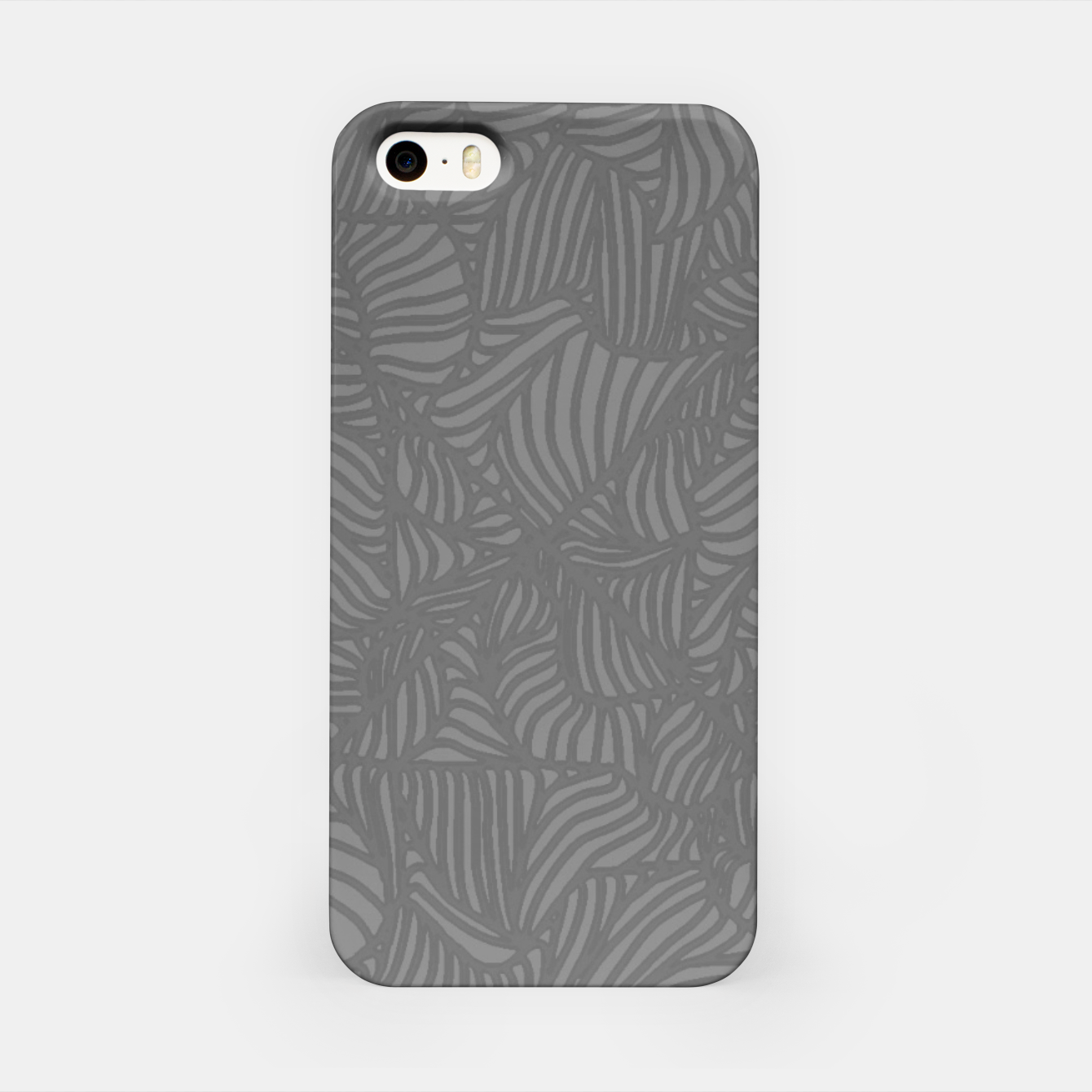 Image of gray iPhone Case - Live Heroes