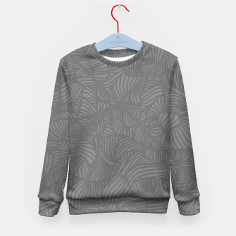 Thumbnail image of gray Kid's Sweater, Live Heroes