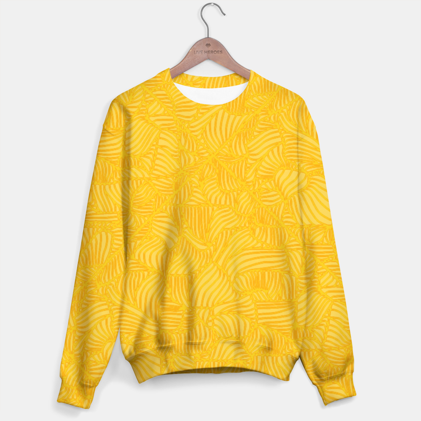 Image of yellow Sweater - Live Heroes