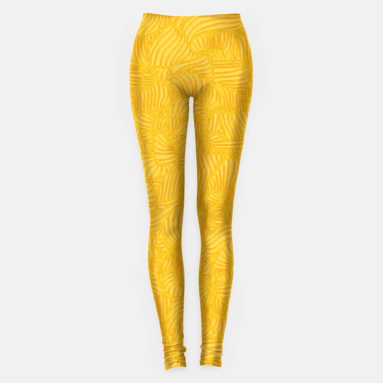 Image of yellow Leggings - Live Heroes