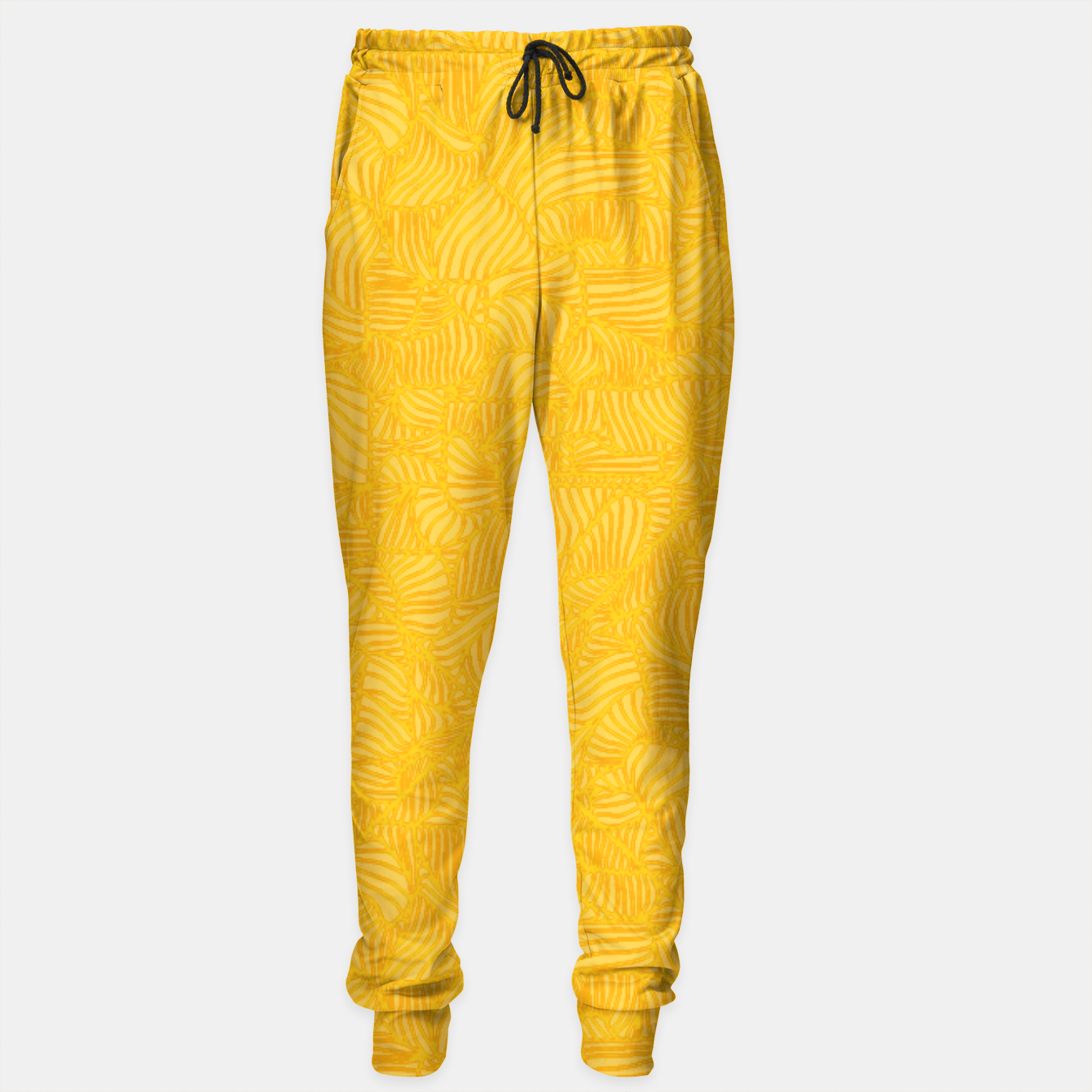 Image of yellow Sweatpants - Live Heroes