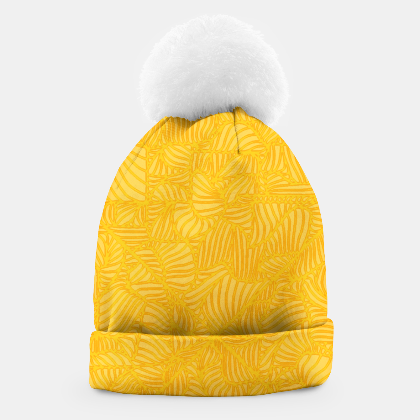 Image of yellow Beanie - Live Heroes