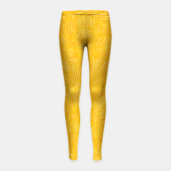 yellow Girl's Leggings thumbnail image
