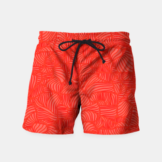 Thumbnail image of red Swim Shorts, Live Heroes