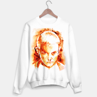 Thumbnail image of Stranger thing 11 coffe painting girl portrait Sweater regular, Live Heroes