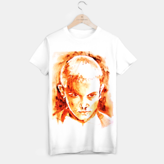 Thumbnail image of Stranger thing 11 coffe painting girl portrait T-shirt regular, Live Heroes