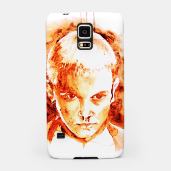 Thumbnail image of Stranger thing 11 coffe painting girl portrait Samsung Case, Live Heroes