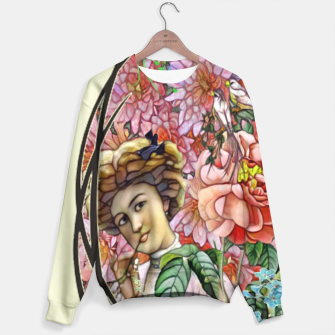 Thumbnail image of Flowers of Fantasy Sweater, Live Heroes