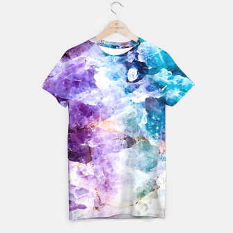 Thumbnail image of Multicolored stone quartz Camiseta, Live Heroes