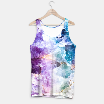 Thumbnail image of Multicolored stone quartz Camiseta de tirantes, Live Heroes