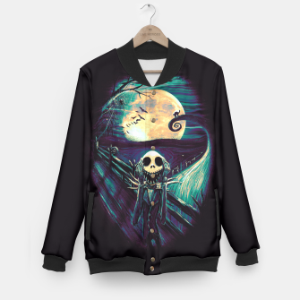 Imagen en miniatura de The Scream Before Christmas Baseball Jacket, Live Heroes