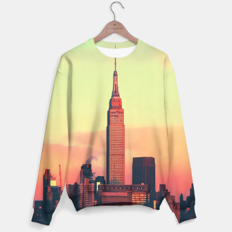 Thumbnail image of NYC Skyline Sweater, Live Heroes