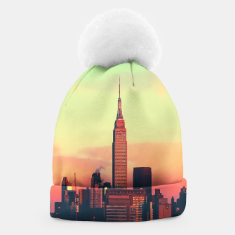 Thumbnail image of NYC Skyline Beanie, Live Heroes