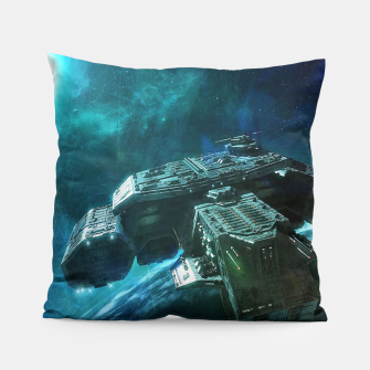 Thumbnail image of Journey home Pillow, Live Heroes