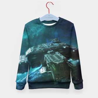 Thumbnail image of Journey home Kid's sweater, Live Heroes