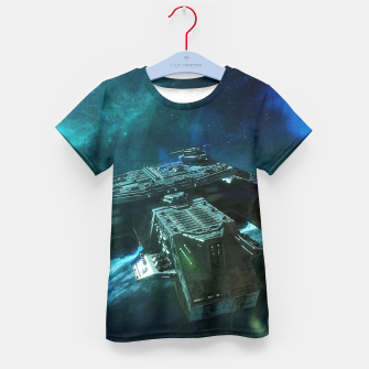 Thumbnail image of Journey home Kid's t-shirt, Live Heroes