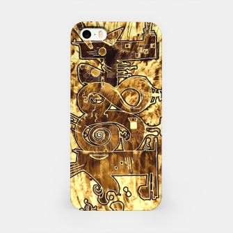 Gold 1984 iPhone Case obraz miniatury
