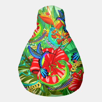 Thumbnail image of The Lizard, The Hummingbird and The Hibiscus Pouf, Live Heroes