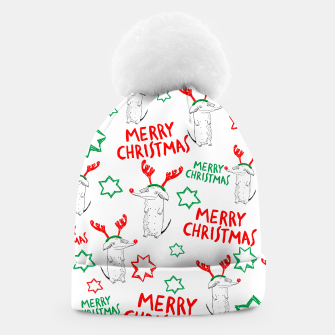 Thumbnail image of Merry Christmas dog Czapka, Live Heroes