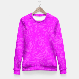 pink Fitted Waist Sweater thumbnail image