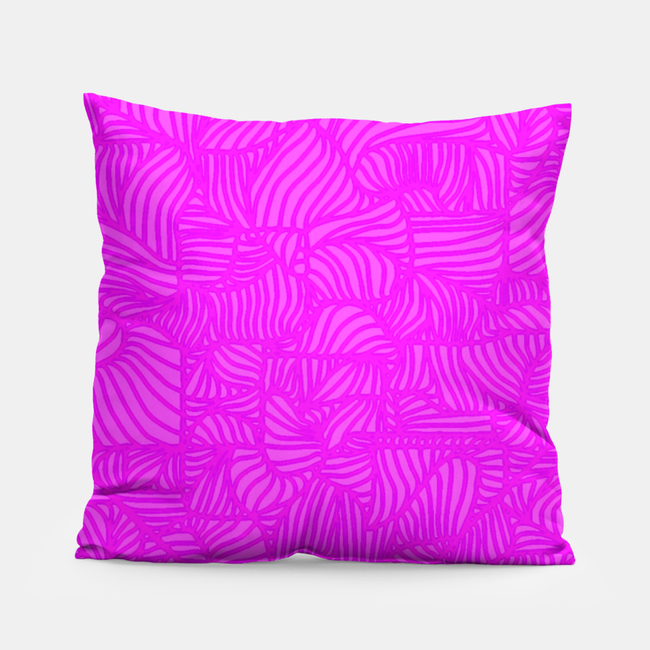 Image of pink Pillow - Live Heroes