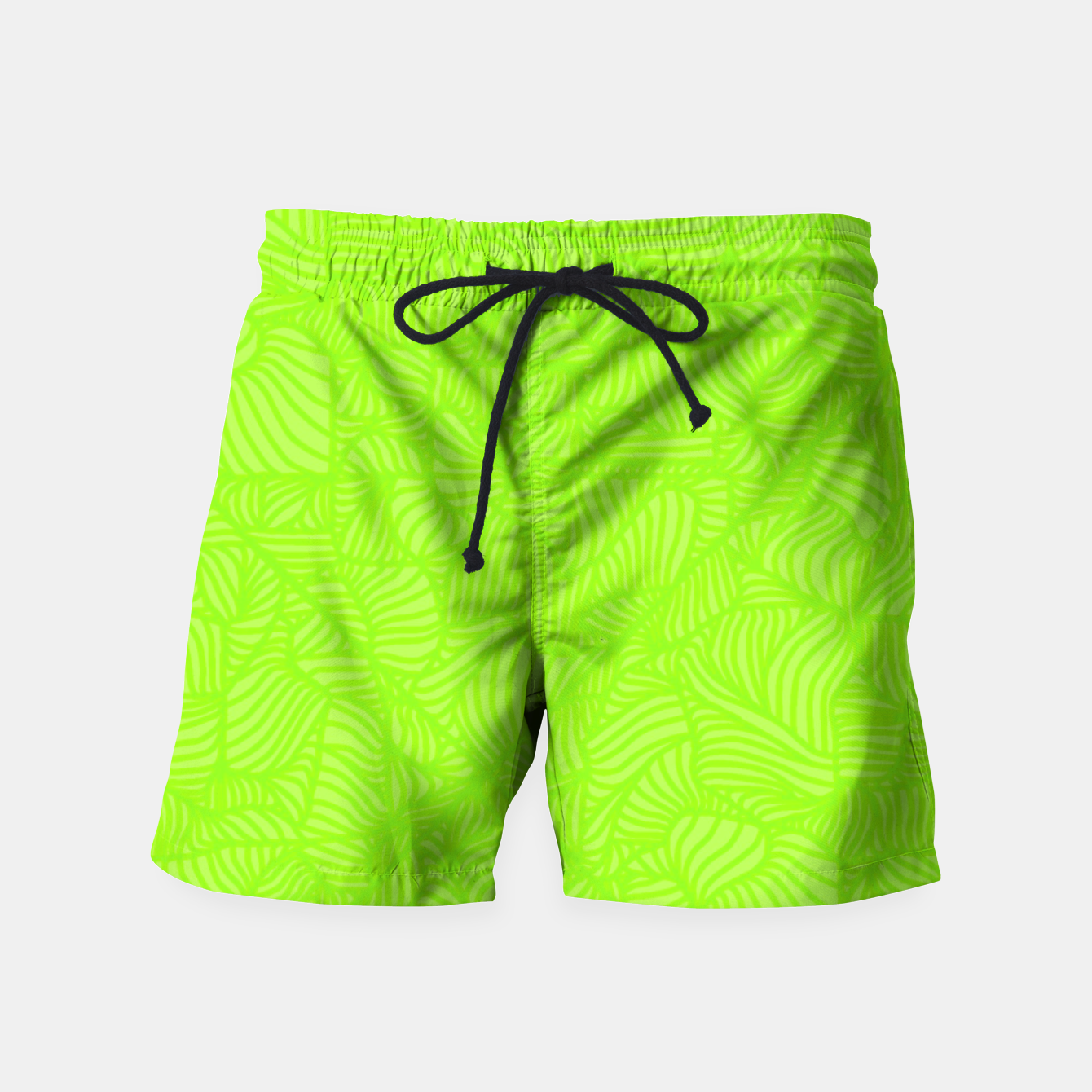 Image of green Swim Shorts - Live Heroes