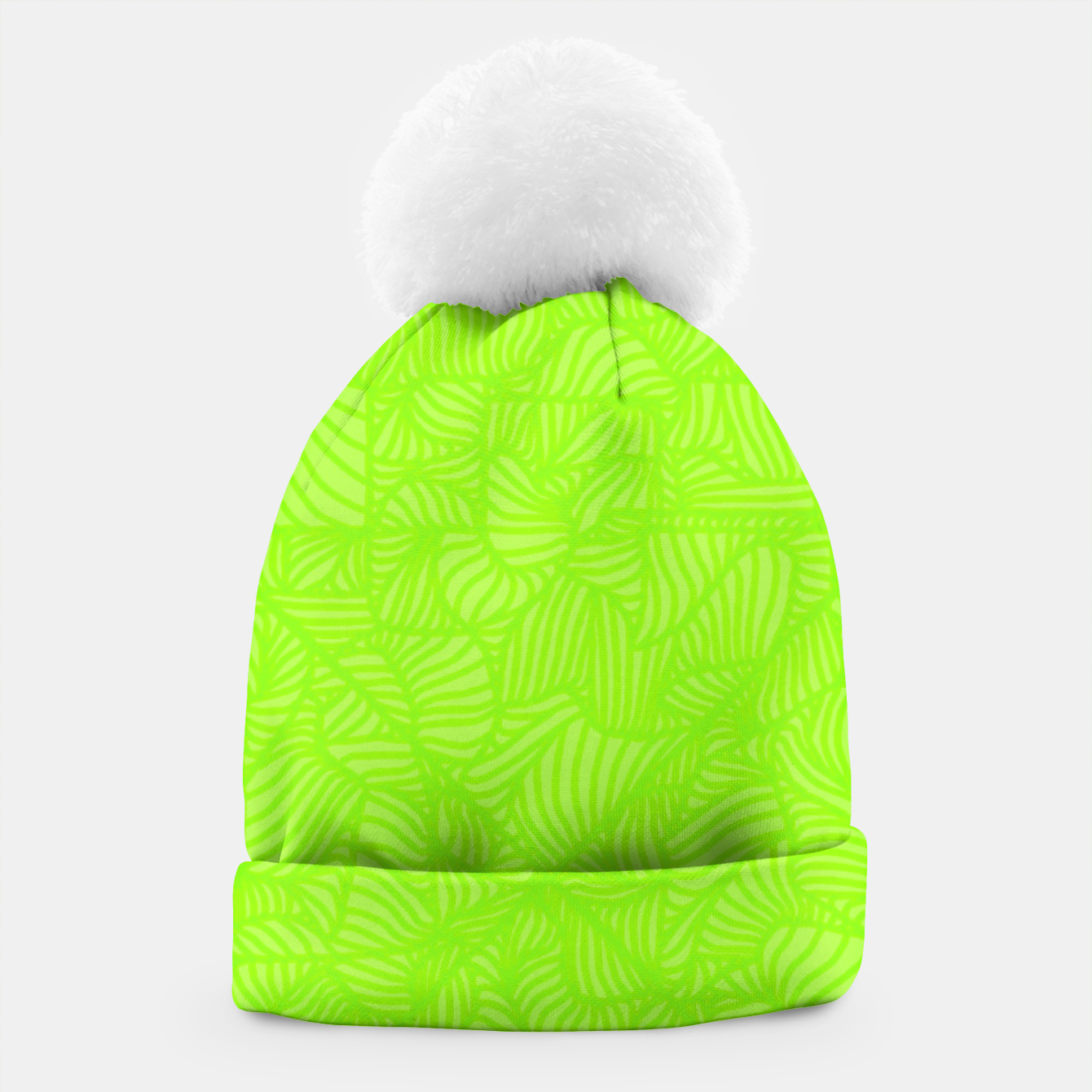 Image of green Beanie - Live Heroes