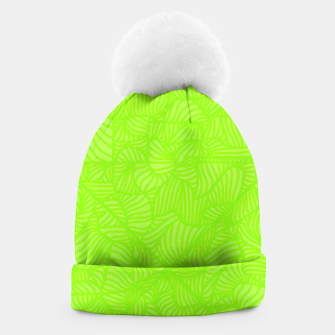 Thumbnail image of green Beanie, Live Heroes