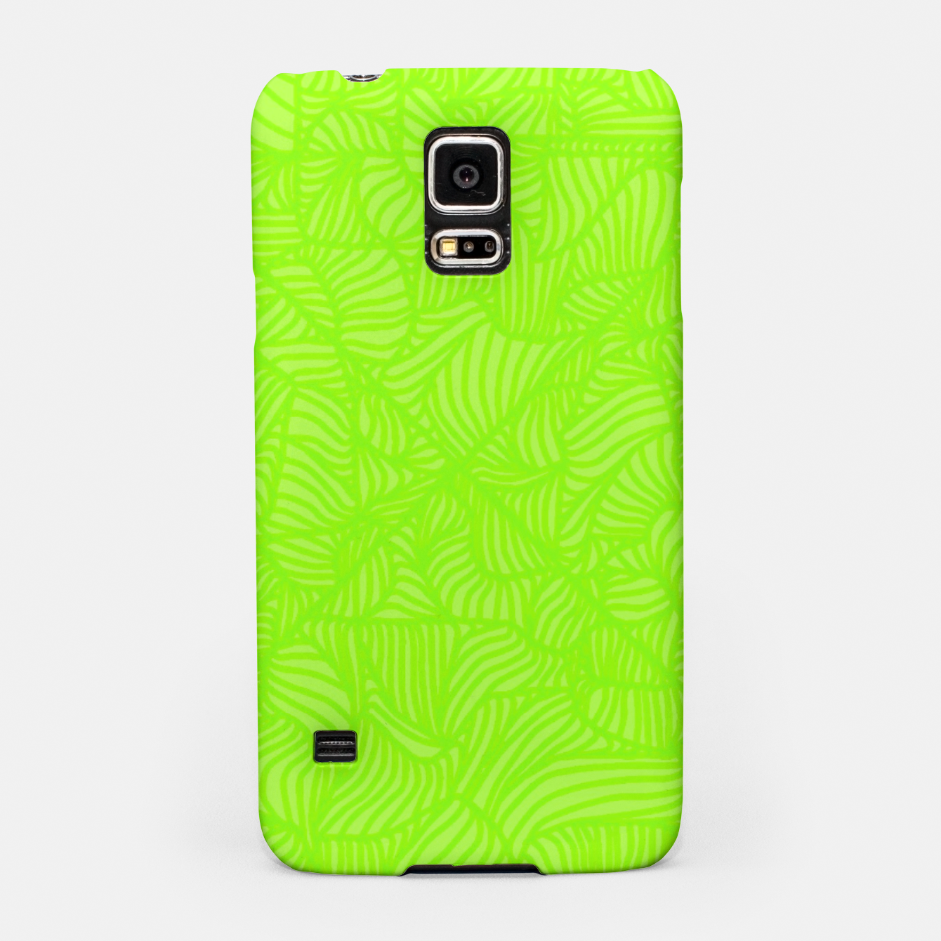Image of green Samsung Case - Live Heroes