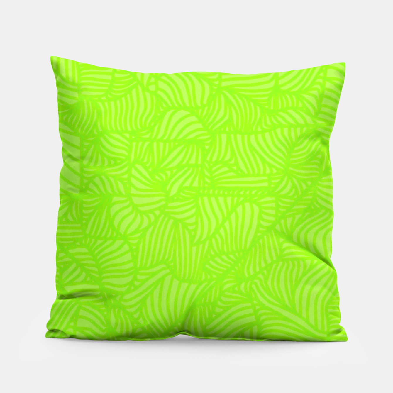 Image of green Pillow - Live Heroes