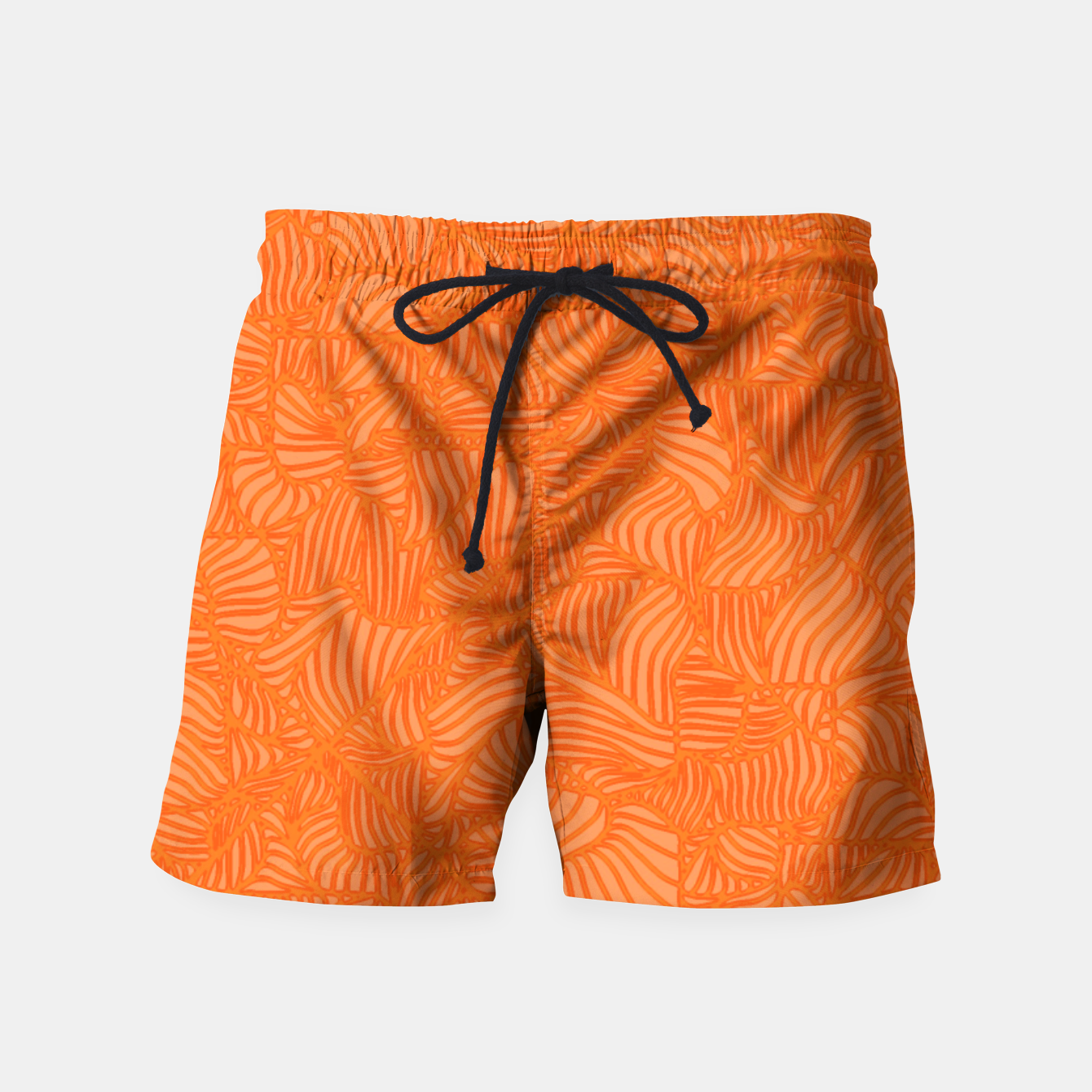 Image of orange Swim Shorts - Live Heroes