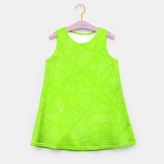 Thumbnail image of green Girl's Summer Dress, Live Heroes