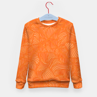 Thumbnail image of orange Kid's Sweater, Live Heroes