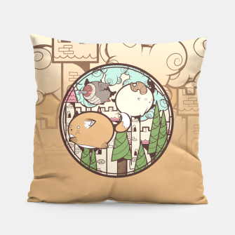 Thumbnail image of animals Pillow, Live Heroes