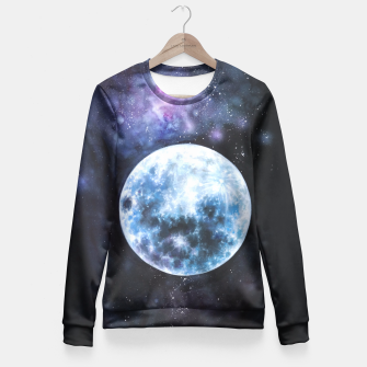 Thumbnail image of moon Fitted Waist Sweater, Live Heroes