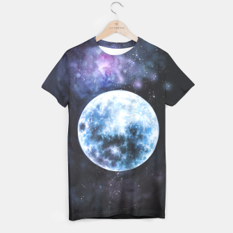 Thumbnail image of moon T-shirt, Live Heroes