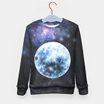 Thumbnail image of moon Kid's Sweater, Live Heroes