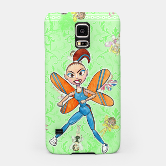 Miniatur Sporty Spice Samsung Case, Live Heroes