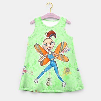Miniaturka Sporty Spice Girl's Summer Dress, Live Heroes